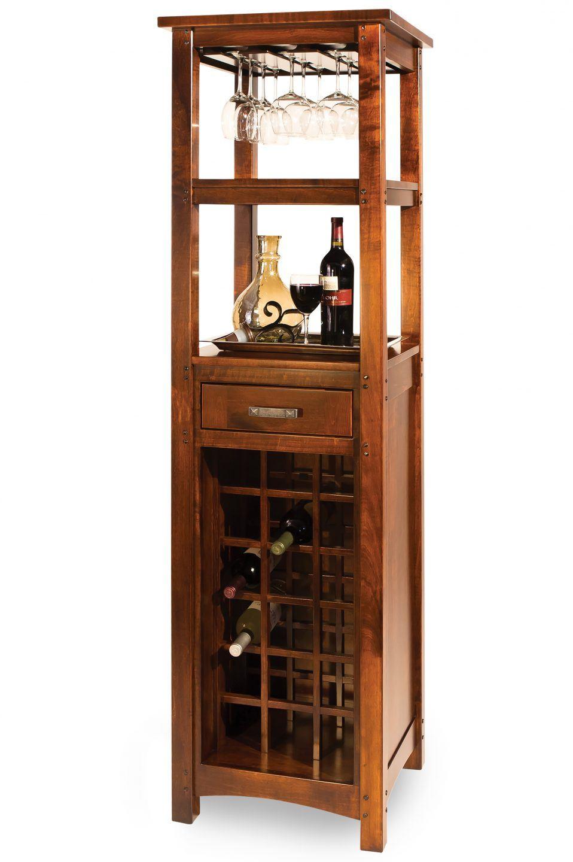 Brunswick Wine Tower Everything Amish